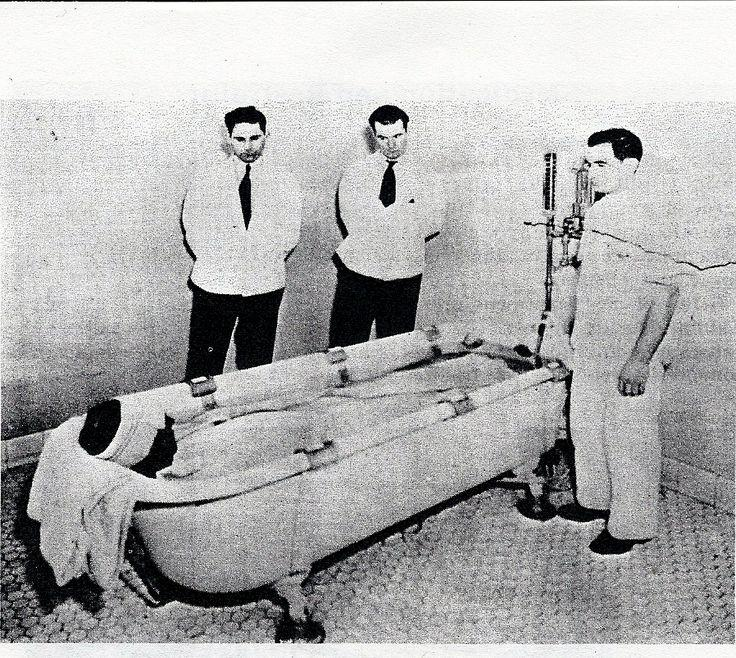 A Torture Method Developed To Treat Patients In Mental ...