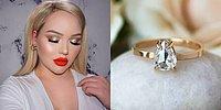 Тест: выберите макияж, и мы расскажем, какое обручальное кольцо с камнем вам подойдёт