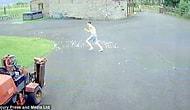 Сумасшедшая погоня подростка, курицы и лисы!