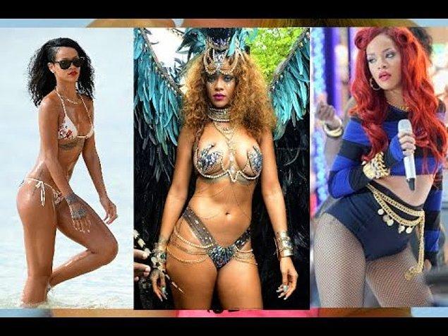 Aldığı kilolarla mutlu mesut yaşayan Rihanna, sürekli olarak medyanın acımasız eleştirilerine maruz kalıyor bu sıra.