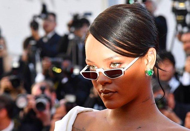 Peki Rihanna'mız altta kalır mı? Yapıştırmış cevabı!