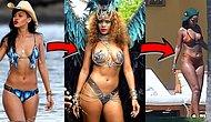 Yürü Be Riri! Rihanna'dan Kilosunu Eleştirenlere Instagram'dan Kapak Gibi Cevap!