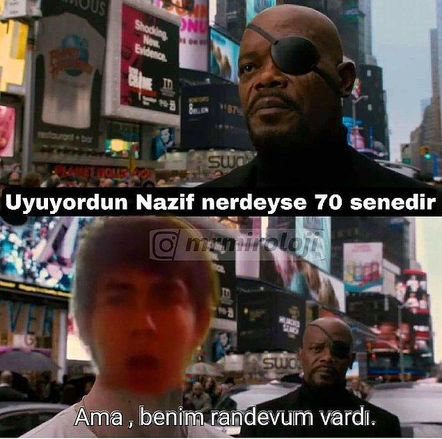 2. Ah Nazif ah...