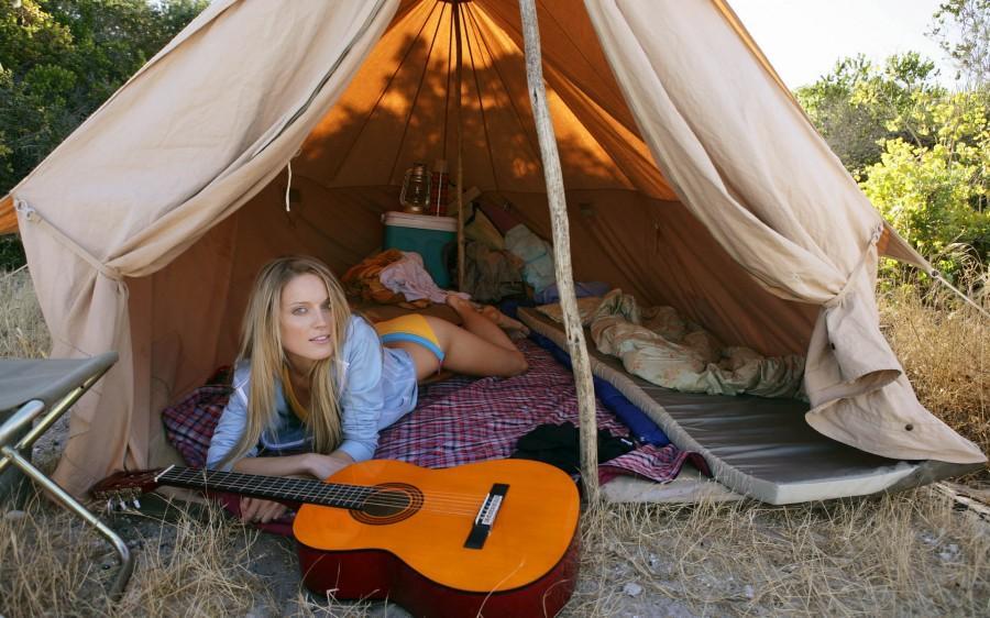 Жизнь в палатке на природе