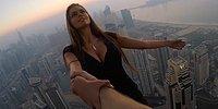 Олег Крикет - сумасшедший русский парень, исполняющий смертельные трюки на небоскребах мира без страховки