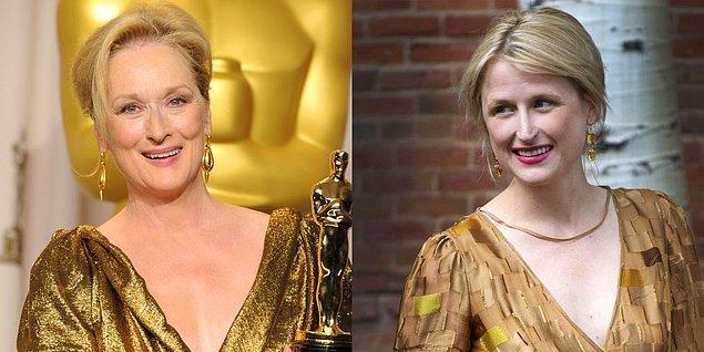 22. Meryl Streep ve kızı Mamie Gummer