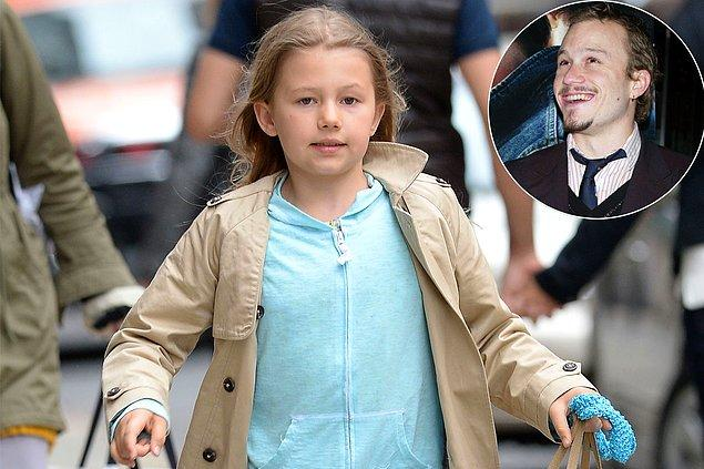 21. Heath Ledger ve kızı Matilda Ledger