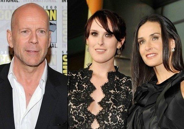 8. Demi Moore ve Bruce Willis çiftinin kızı Rumer Willis
