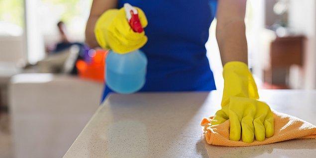 13. Ufak ufak temizlik yapabilirsiniz.