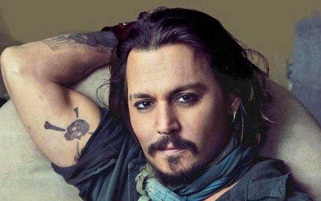 """The Invisible Man""in başrolündeki isim Johnny Depp."