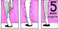 13 жизненных комиксов о бритье, до боли знакомых каждой девушке