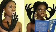 Эта девушка из Кот-д'Ивуара может сделать из своих волос абсолютно ВСЁ!