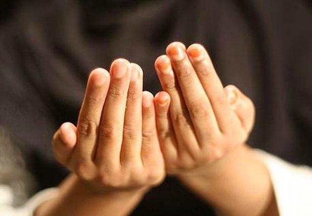 7. Dua edebilirsiniz.