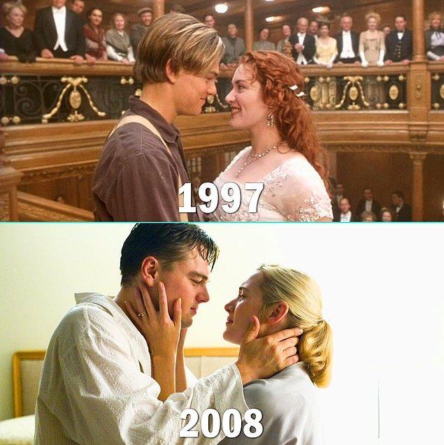 21. Leonardo DiCaprio & Kate Winslet