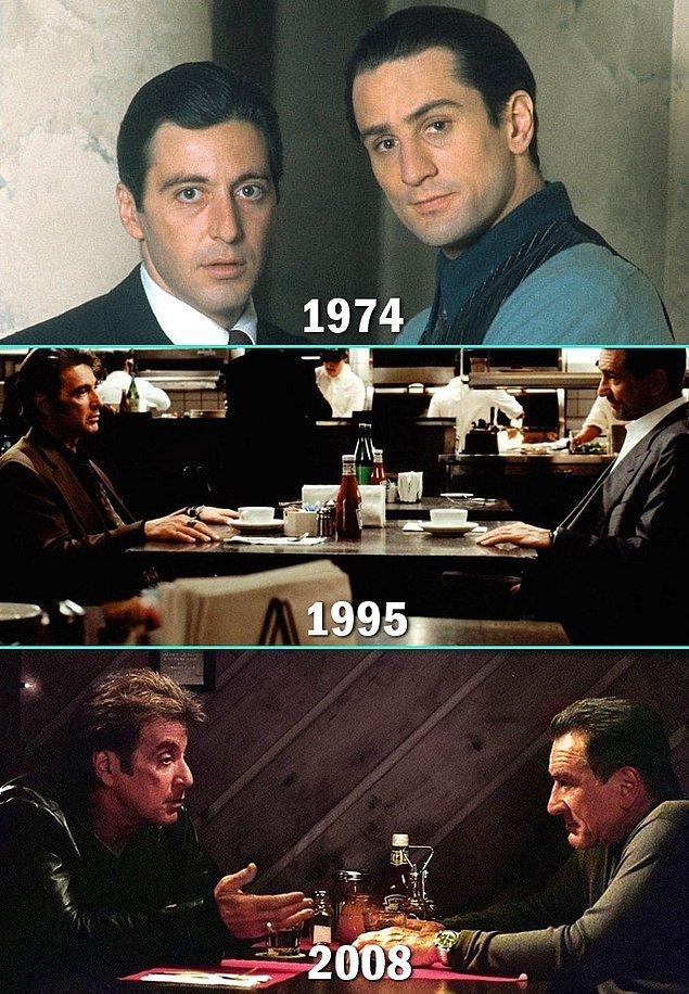16. Al Pacino & Robert De Niro