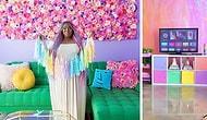 Даже единорог позеленеет от зависти: хозяйка радужной квартиры покорила Instagram