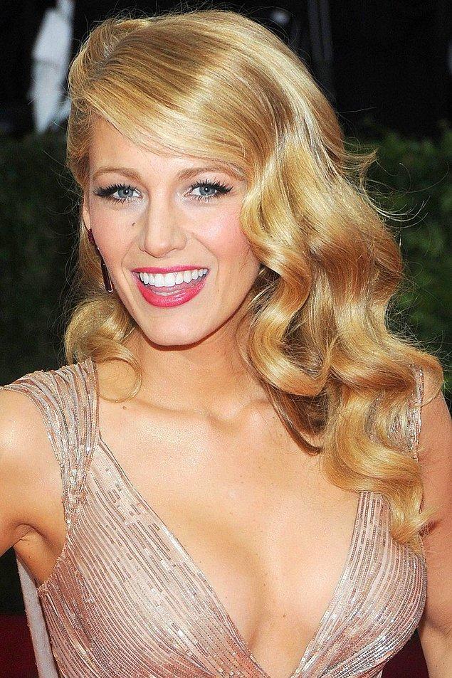 1. Blake Lively'nin harika ve ötesi saçlarının sırrı ise mayonez!