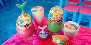 """Мифическое кафе """"Русалочий остров"""": радужные десерты и незабываемый интерьер!"""