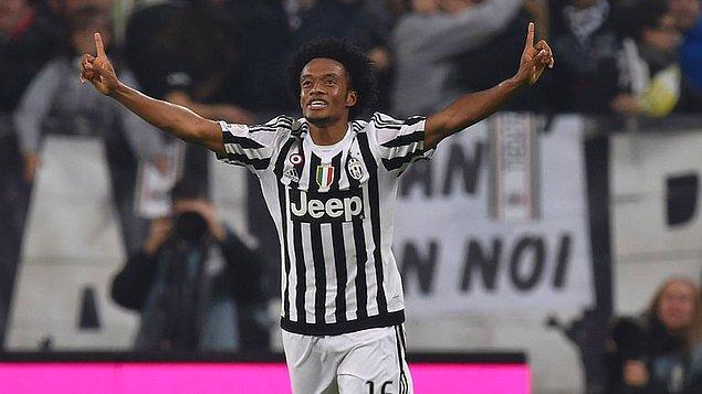 104. Juan Cuadrado ➡️  Juventus