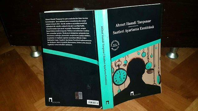 3. Saatleri Ayarlama Enstitüsü - Ahmet Hamdi Tanpınar