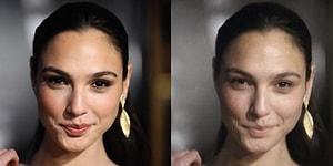"""Узнай, как они выглядят: 10 фото звезд, обработанных в приложении """"смывающим"""" макияж"""