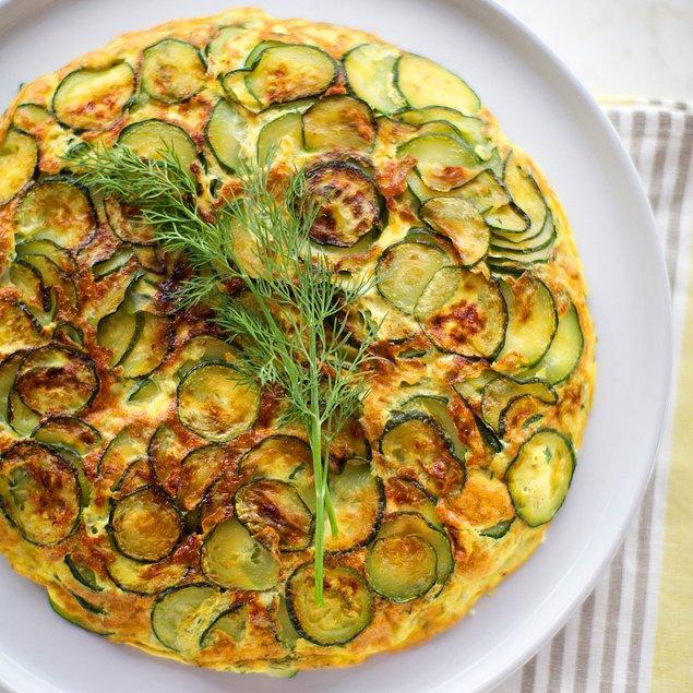 8. Hem sabah hem akşam doyurucu bir omlet tarifine ne dersiniz?