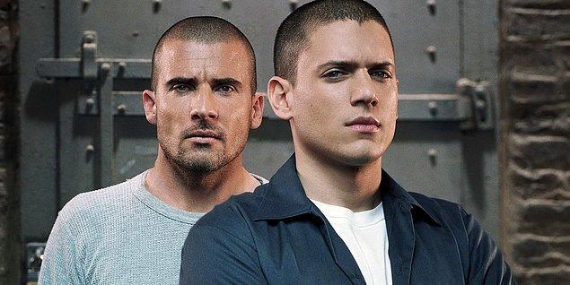 10. Prison Break (2005–2009)    IMDb 8.5