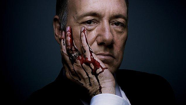 4. House of Cards (2013–)    IMDb 9.0