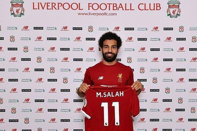 93. Mohamed Salah ➡️  Liverpool