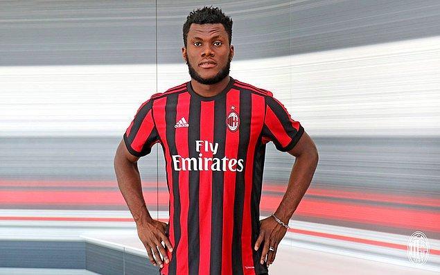 101. Franck Kessié ➡️  AC Milan