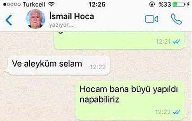 7. Whatsapp'ta Yakaladığı Cinci Hocaya Musallat Olup Acımasızca Trolleyen Genç