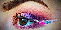 Новый тренд в макияже глаз: стрелки в виде рогов единорога