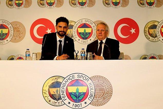 90. Mehmet Ekici ➡️  Fenerbahçe