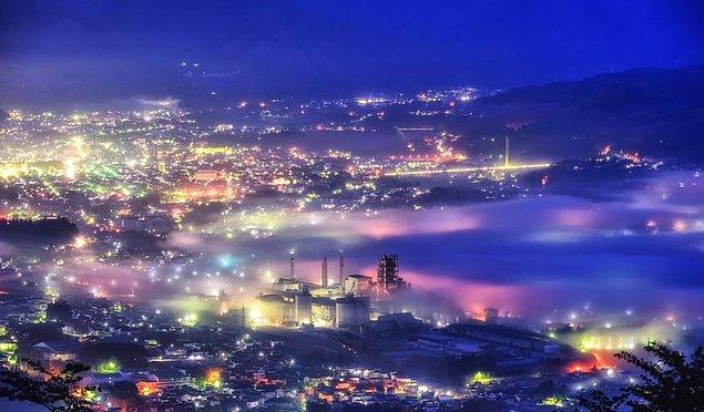 20. Bulutlar denizi ile ünlü Chichibu, Japonya