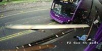 Сбивающий мужчину автобус - не помеха на пути к пабу