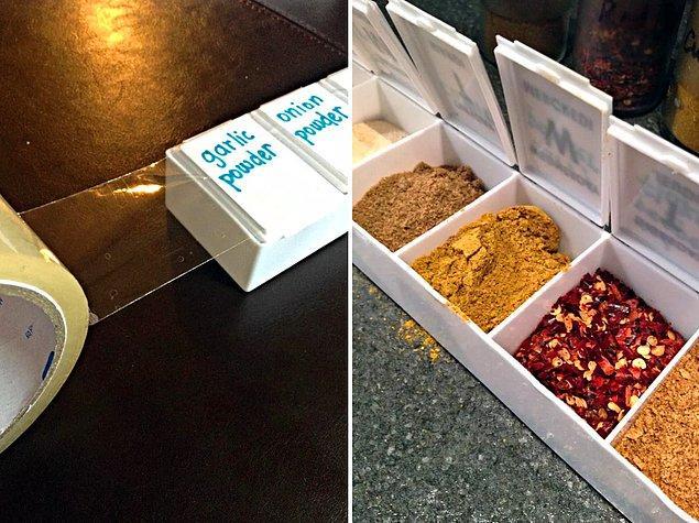 15. İlaç kutusunu baharatlık yapın.