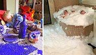 9 фото о том, что происходит, когда оставляешь детей одних на несколько минут