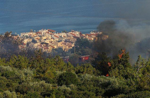 Taş ocağında çalışan 30 kişi tahliye edildi.