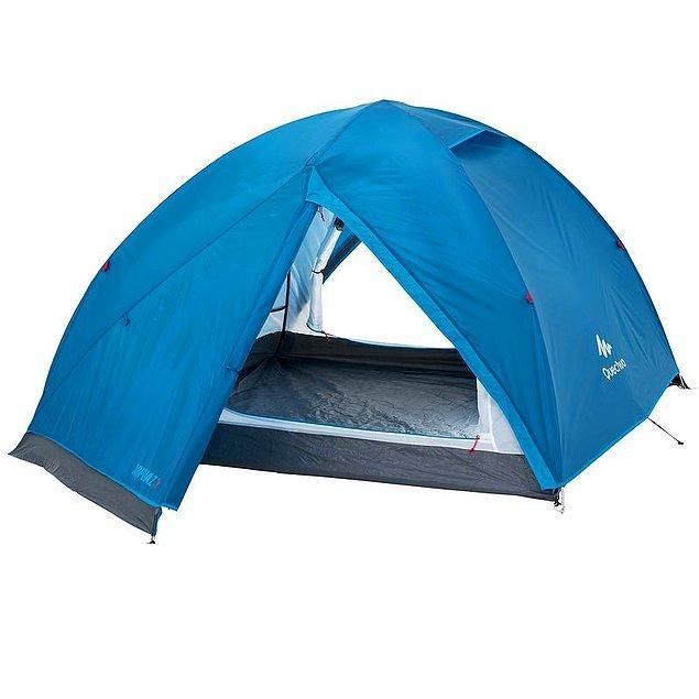 5. Sima, Decathlon'dan Arpenaz kamp çadırı satın aldı. 199 liraya!