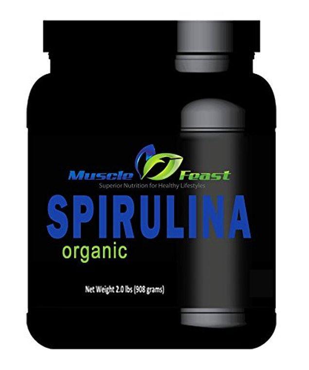 8. Volkan vejetaryenlere şahane bir öneride bulunuyor: Muscle Feast, Organik Spirulina!