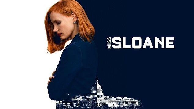 11. Miss Sloane (2016)   IMDb  7.4