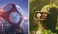 Апокалиптические пейзажи Филипа Ходаса, показывающие забвение поп-культуры
