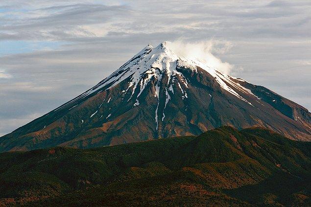 10. Taranaki Dağı, Yeni Zelanda