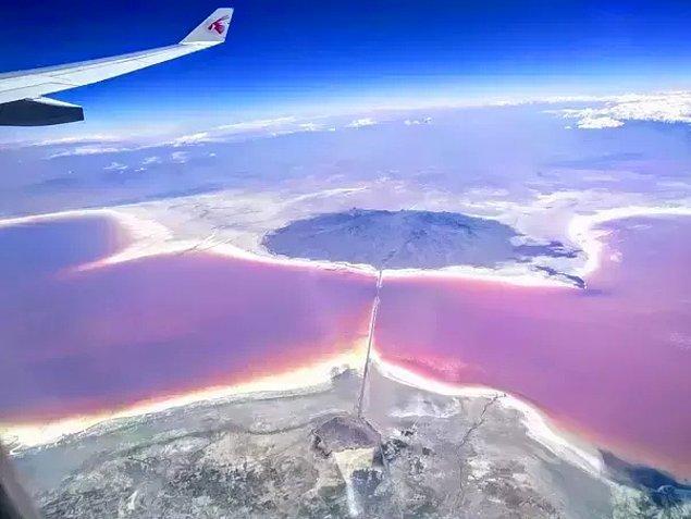 4. Urmia gölü, İran.