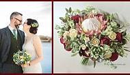 15 шикарных свадебных букетов из глины от российской мастерицы приведут вас в восторг