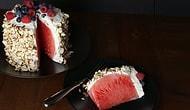 Летом не печется? Тогда сделай арбузный торт!