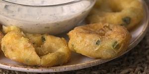 Картофельные колечки - отличная закуска для любой летней вечеринки!