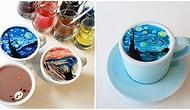 Корейский бариста изображает на кофейной пене работы известных художников