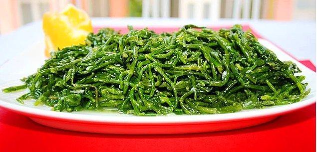 6. Mezesi lezzetli mi lezzetli bu bitkinin adı?