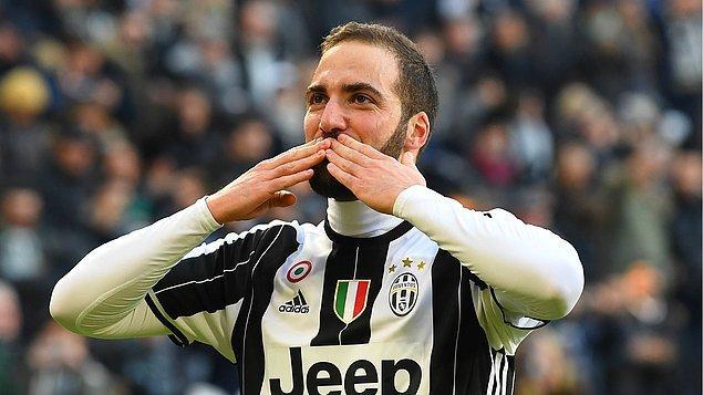 4. Gonzalo Higuain | Napoli ➡️ Juventus